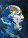 Audible by Josh Bowe, Painting, Oil on canvas