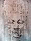 Nefertiti(Line Abstract) by Josh Bowe, Drawing, Pencil and Pen