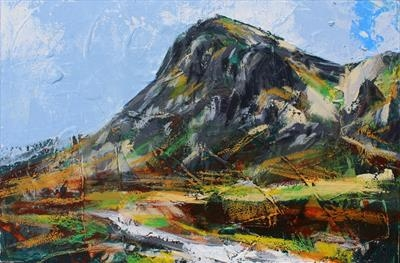 Glencoe by Josh Bowe, Painting, Oil on canvas