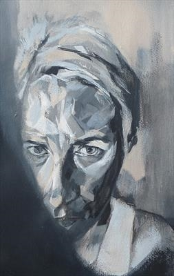 Helena by Josh Bowe, Painting, Acrylic on paper