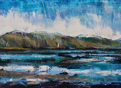 Loch Creran(Element Beacon) by Josh Bowe, Painting, Oil on canvas