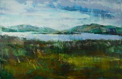Loch Lomond by Josh Bowe, Painting, Oil on canvas
