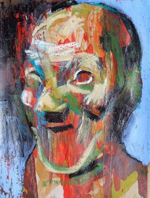 Messerschmidt Development Sketch 1 by Josh Bowe, Painting, Mixed Media on paper