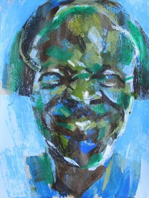 Messerschmidt Development Sketch 2 by Josh Bowe, Painting, Mixed Media on paper