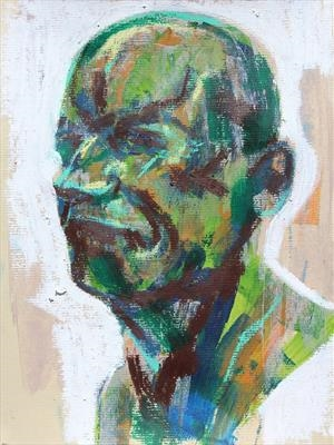 Messerschmidt Development Sketch 4 by Josh Bowe, Painting, Mixed Media on paper