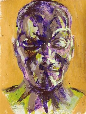 Messerschmidt Development Sketch 5 by Josh Bowe, Painting, Mixed Media on paper