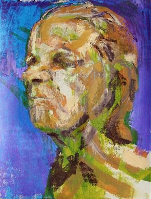 Messerschmidt Development Sketch 6 by Josh Bowe, Painting, Mixed Media on paper