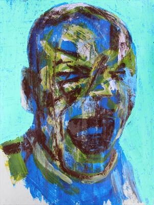 Messerschmidt Development Sketch 7 by Josh Bowe, Painting, Mixed Media on paper