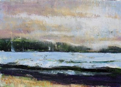 Port Appin by Josh Bowe, Painting, Oil on canvas
