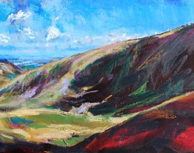 Snowdon Four by Josh Bowe, Painting, Oil on canvas