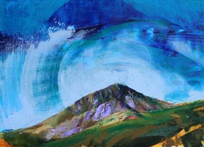 Snowdon Three by Josh Bowe, Painting, Oil on canvas