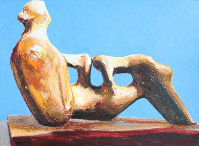 Study from Henry Moore-Reclining FigureHoles 1976-78 & Josh Bowe: Study from Henry Moore-Three Standing Figures 1945(P.S ... islam-shia.org
